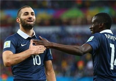 ترکیب تیمهای فرانسه و اکوادور مشخص شد
