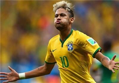 نیمار بهترین بازیکن دیدار برزیل - کامرون شد