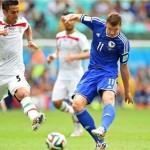 ادین ژکو، بهترین بازیکن دیدار ایران و بوسنی شد