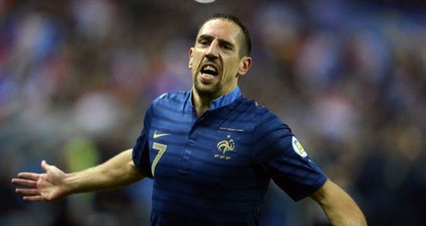 ریبری غایب بزرگ فرانسه در جام جهانی