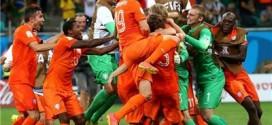 خوشحالی هلندیها و ناراحتی کاستاریکا به روایت تصویر