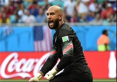 دروازهبان آمریکا رکورددار تاریخ جام جهانی شد