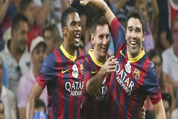 بارسلونا 4 - 4 پورتو ؛ خداحافظی باشکوه دکو از فوتبال