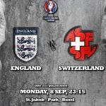 پیش بازی سوئیس - انگلیس/ شروع سه شیر ها از سن جیکوب