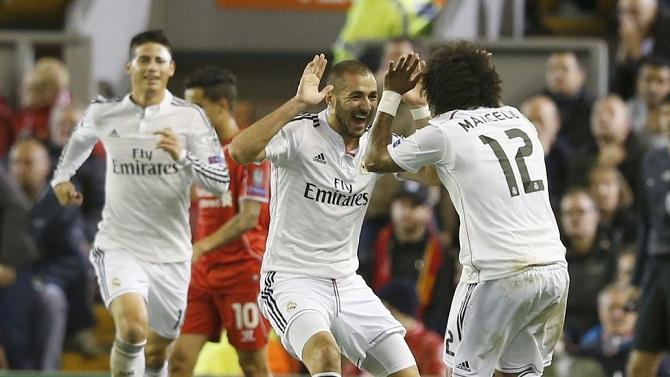 لیورپول 0-3 رئال مادرید/ انتقام سخت از آنفیلد