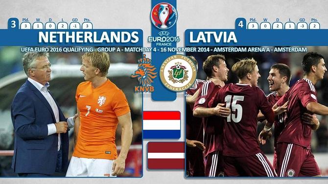 پیش بازی هلند - لتونی/ نارنجی های بحران زده در پی حفظ آبرو