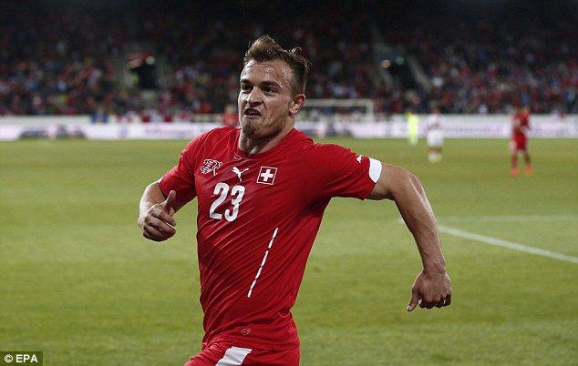 سوئیس 4-0 لیتوانی/ با درخشش دیرهنگام ژردان شکیری