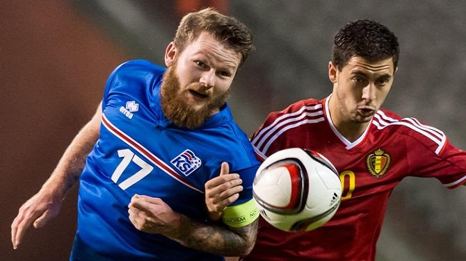 بلژیک 3-1 ایسلند/ خط و نشان کشیدن ویلموتس برای ولز
