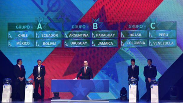 همگروهی آرژانتین و اروگوئه در کوپا آمریکا 2015