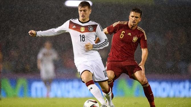 اسپانیا 0-1 آلمان/ برد ژرمن ها در شب بارانی ویگو