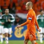 انتقاد روبن از خط دفاع آسیب پذیر هلند