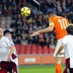 هلند 6-0 لتونی/ پیروزی قاطع نارنجی ها در پی اس وی آرنا