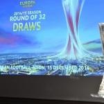 قرعه کشی لحظه به لحظه مرحله یک شانزدهم نهایی لیگ اروپا