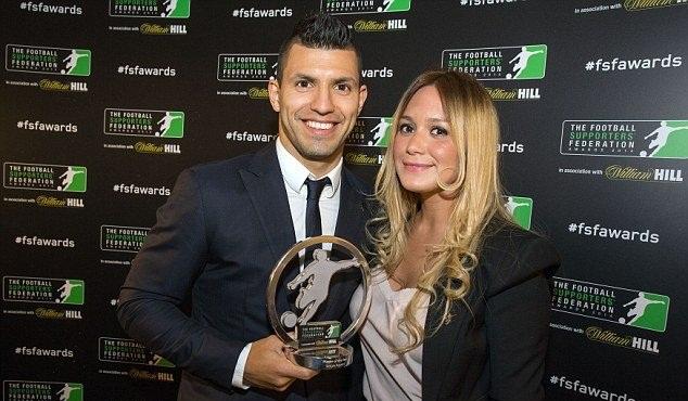 آگوئرو بهترین بازیکن سال انگلیس از نگاه طرفداران