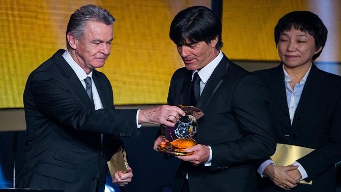 یواخیم لوو به عنوان بهترین مربی سال 2014 فیفا انتخاب شد