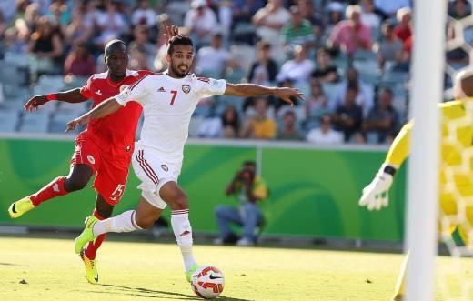 آمار و ارقام دیدار بحرین 1 - 2 امارات