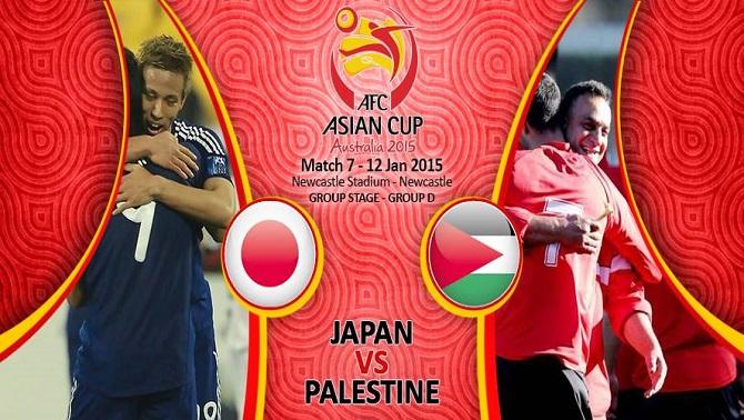 پیش بازی ژاپن - فلسطین/ شروعی برای دفاع از قهرمانی